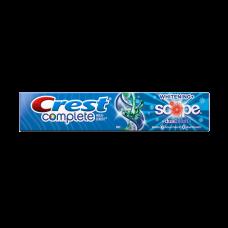 Зубная паста Crest Complete Whitening Scope Dualblast 164 мл