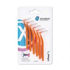 Межзубные ершики Miradent I-Prox L conical 0.8 мм оранжевые 6 шт.