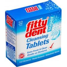 Таблетки для очищення зубних протезів Super 32 шт