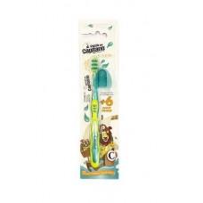 Детская зубная щетка Pasta del Capitano Junior жёлтая от 6 лет