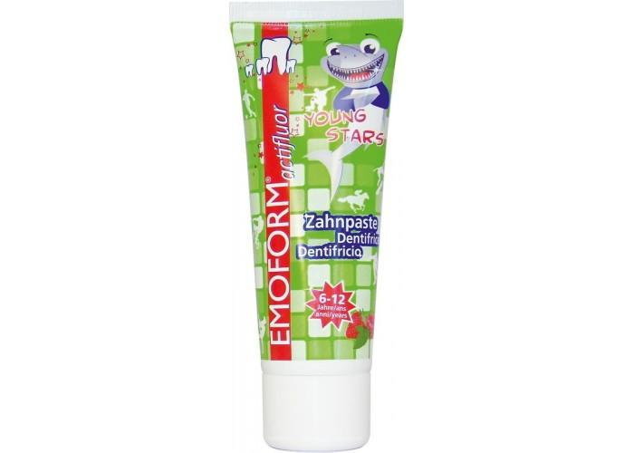 Детская зубная паста Emoform actifluor Youngstars 6 - 12 лет 75 мл