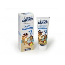 Детская зубная паста Pasta del Capitano Baby Tutti-frutti от 3 до 6 лет 75 мл