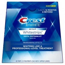 Отбеливающие полоски Crest 3D White Whitestrips Professional Effects 20 шт