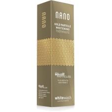 Зубная паста WhiteWash Nano отбеливающая с ионами золота 75 мл