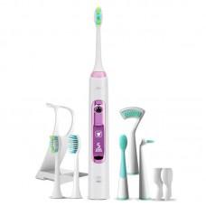 Звуковая зубная щетка Lebond V2 Ortho Joy Pink 6 насадок