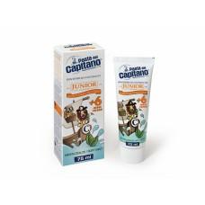 Детская зубная паста Pasta del Capitano Junior Soft Mint от 6 лет 75 мл