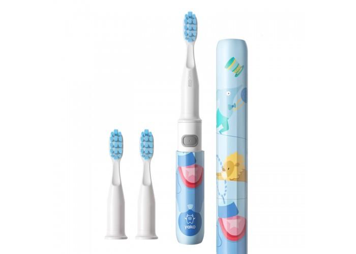 Электрическая зубная щетка YAKO Y1 Elephant (Слон) 3 насадки