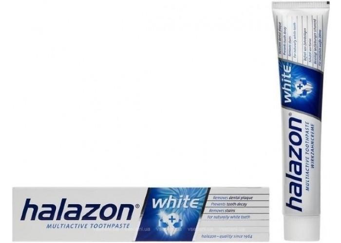 Зубная паста Halazon multiactive white Отбеливающая 75 мл
