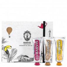 Набор зубных паст Marvis Royal Karakum Rambas 3 шт по 25 мл