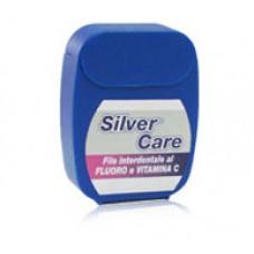 Зубная нить (флосс) Silver Care с витамином С и нитратом серебра, 50 м