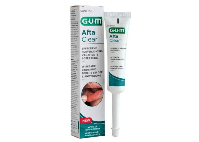 Гель для полости рта Gum AftaClear 10 мл